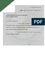 NOTA MODELO PEDIDO DE TITULARIZACIÓN