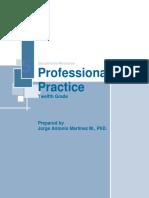 Material Didáctico de Practica Profesional - Duodécimo Grado