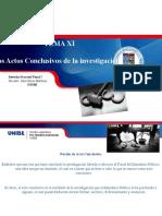 2015 12 03 TEMA XI. Los Actos Conclusivos de la investigación