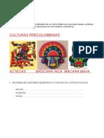 ACTIVIDADES SOCIALES 4° GRADO DE PRIMARIA