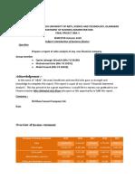 Finance (Final Project)