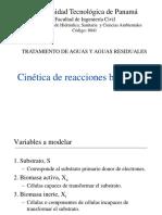 Clase 12. cinetica de reacciones microbianas