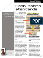 Stablization Standards for Outrigger Mats