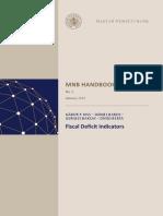 Class 3_P. Kiss, G., Babos, D., Baksay, G., Berta, D. - Fiscal Deficit Indicators MNB Handbooks No. 9