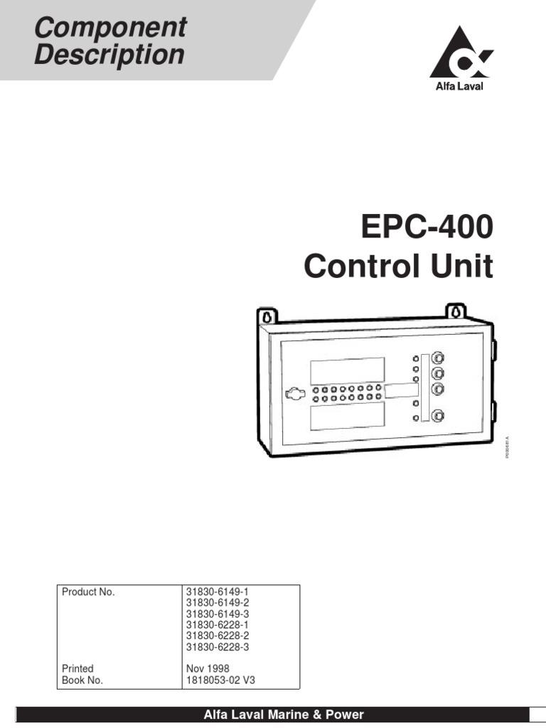 epc 400 manual relay parameter computer programming rh scribd com