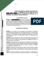 Resolución del Gobierno de la Región de Murcia a la solicitud de Maldita.es