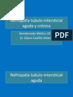 Nefropatia tubulo intersticial aguda y cronica residentado