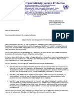 Lettera Oipa Ai Parlamentari Europei Per Orsi Trento