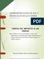 ADMINISTRACION DE IVA Y RETENCION EN LA FUENTE sision 4