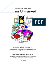 Stress Unmasked, by David Brown extract