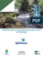 Restauration et entretien des cours d'eau en Bretagne
