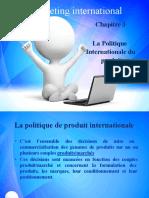 Politique produit international
