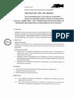 Directiva Concurso y Encuentro Regional