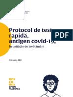 Protocol de testare