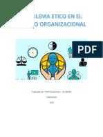 Problema Etico en El Ambito Organizacional
