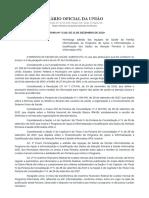 PORTARIA Nº 3.319, DE 13 DE DEZEMBRO DE 2019 - HOMOLOGA 1ª Lista Informatiza APS (1)