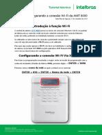 Tutorial - Configurando a conexão Wi-Fi da AMT 8000