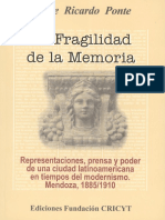 La Fragilidad de la Memoria