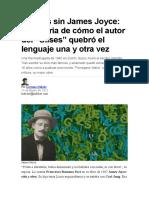 80 años sin James Joyce