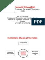 Finance & Innovation
