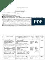 programa de pregatire la confectioner tamplarie din aliminiu sau PVC