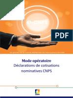 MODE_OPERATOIRE_DES_DECLARATIONS_DE_COTISATIONS_NOMINATIVES_CNPS