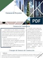 Diapositivas Gerencia Por Proyectos 2020