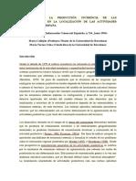 IMPRIMIR MARÍA CALLEJÓN Geografía de La Producción. Incidencia de Las Externalidades en La Localización de Las Actividades Industriales