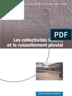 Les collectivités territoriales et le ruissellement pluvial