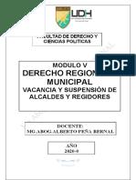 Modulo v Derecho Municipal y Regional 2020 (1)