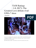 2017-2020 Philippine TV Ratings