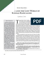 Historians and the Lost World of Kansas Radicalism by William C. Pratt
