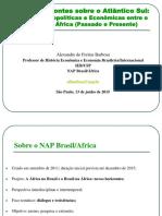 Aula Brasil African Apus p 2015