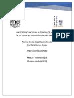 Anestésicos Locales Concepto y Tipos.