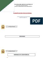PPT Sesión 1 Planificación