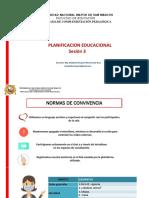 PPT Sesión 3 Planificación