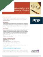 Case Study - Product Internationalization - Legal DMS