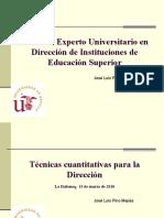 Curso Experto universitario Direcc. de IES