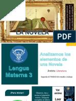 EDITABLE - 2da Actividad - La Novela