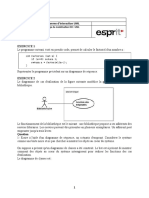 TD UML Diagramme de Sequence