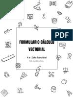 Formulario Cálculo de Varias Variables