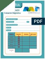 Evaluacion Diagnostica Quinto Grado Convertido