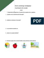 cuestionario de sociales 4