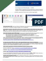 Avaliações on-Line - A1 (Prova Regimental Globalizada) 2.2020