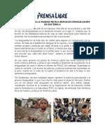 ÍNDICE DE DESARROLLO HUMANO REVELA MARCADAS DESIGUALDADES EN GUATEMALA