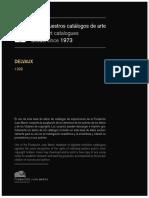 Delvaux Catalogo Fundacion Juan March