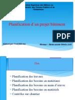 planification ISMB-TPU ďaleg