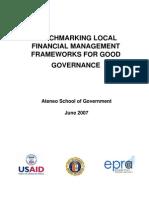 Benchmarking Local Financial Management Frameworks for Good Governance