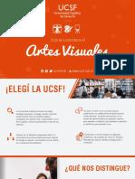 Brochure Lic. en Artes Visuales 2019