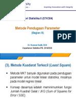 dokumen.tips_metode-pendugaan-parameter-2019-09-24-teori-statistika-ii-stk304-dr-kusman